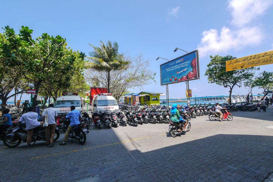 Мале, столица Мальдив
