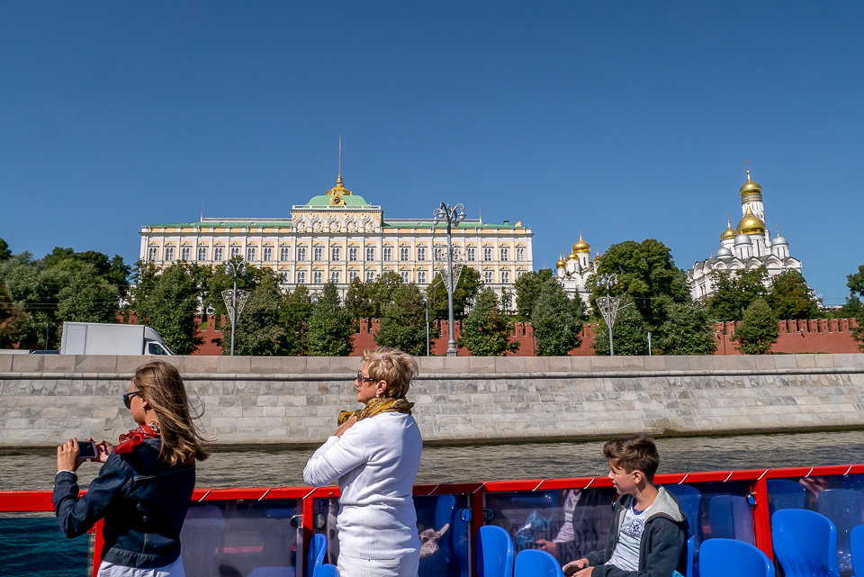 Москва на кораблике 2015