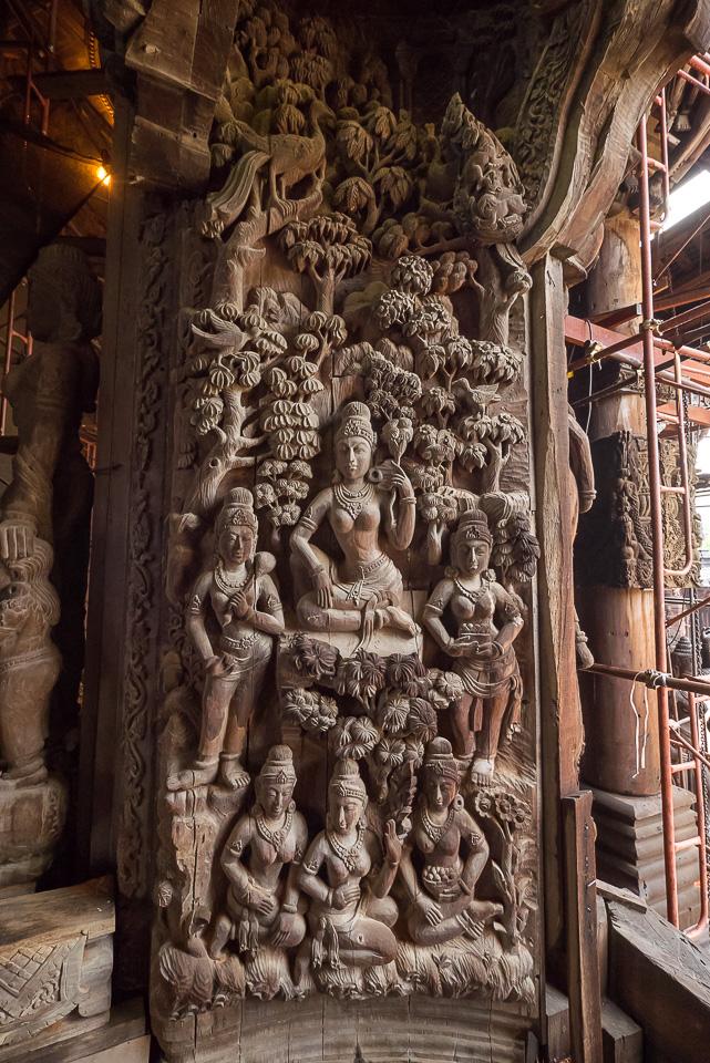 Храм Истины в Паттайе