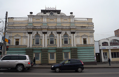 Красивое здание