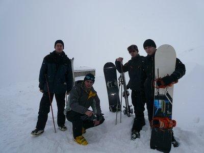 Мы на горнолыжном курорте