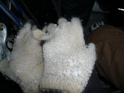 Варежки снеговика