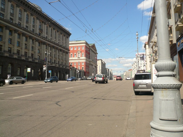 ул. Тверская, Москва 2011 год