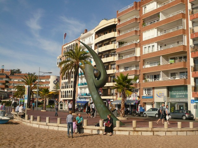 Скульптура в Ллорет де Мар