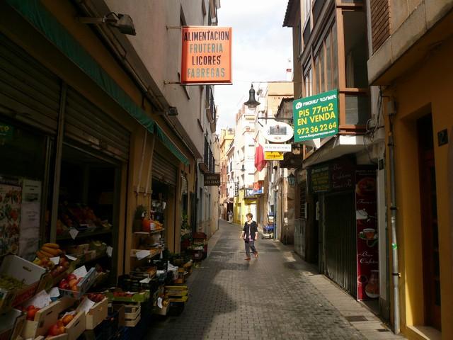 Улочки в Ллорет де Мар