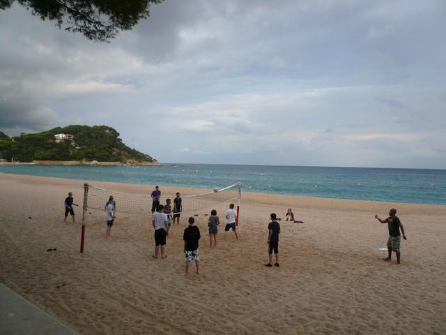 Волейбол на Коста Браво