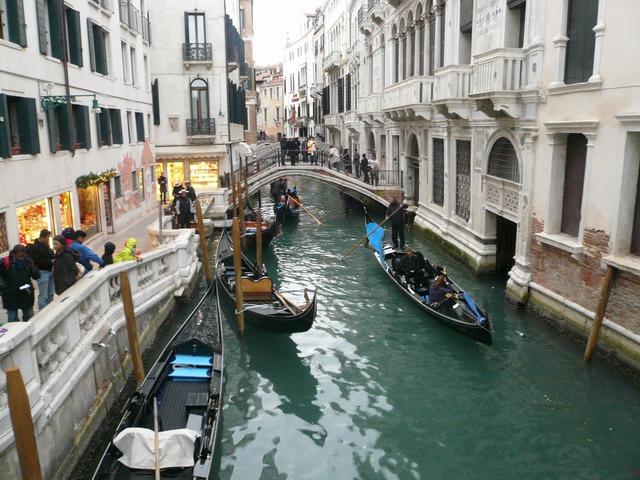 Венеция. Гандолы