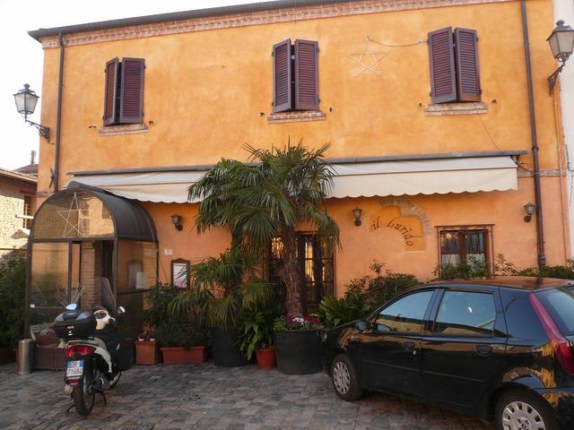 Римини. Ресторан Il Lurido