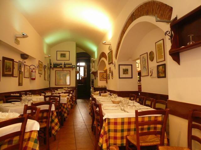 Флоренция. Ресторан Pennello