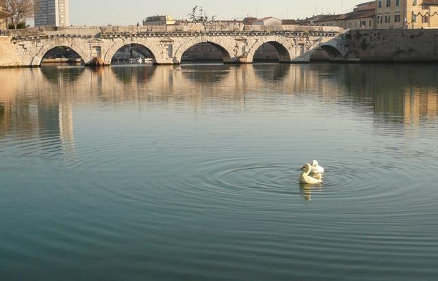 Римини. Мост