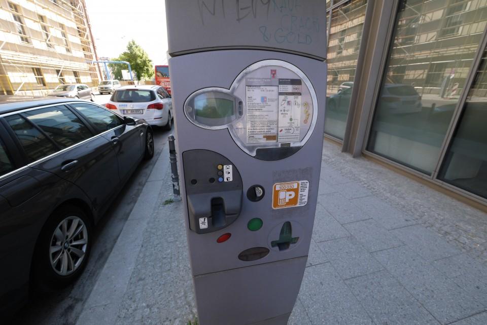 Парковочные автоматы в Берлине