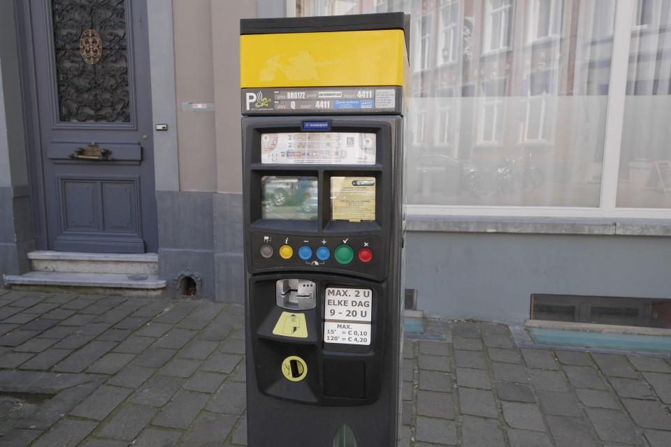 Парковочные автоматы в Брюгге