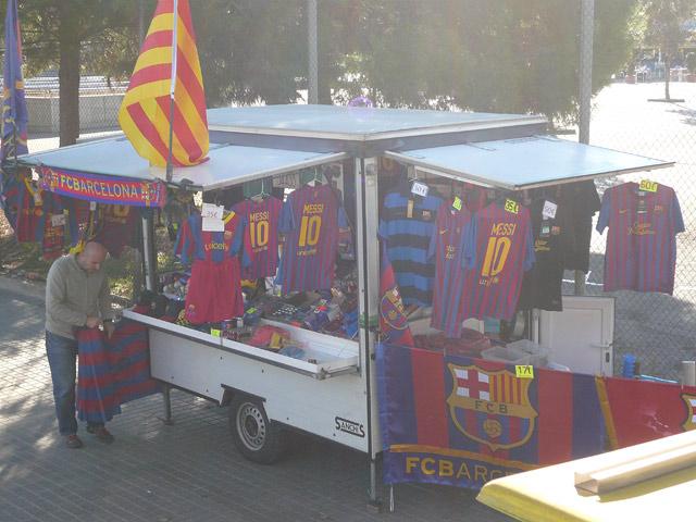 Цены в Испании. Футболки Барса
