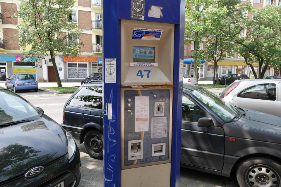Парковочные автоматы в Гданьске