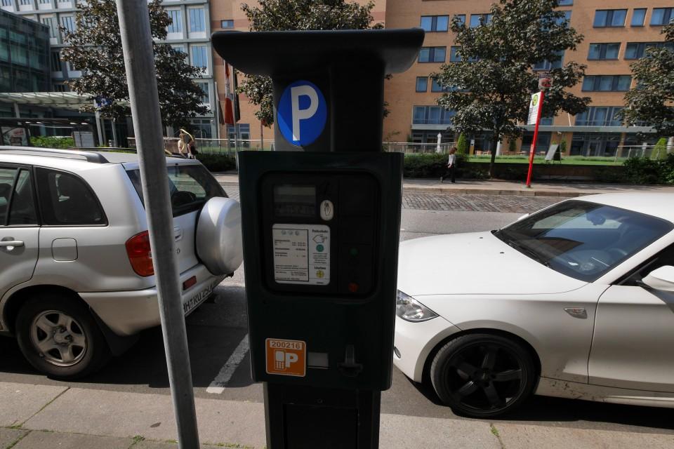 Парковочные автоматы в Гамбурге