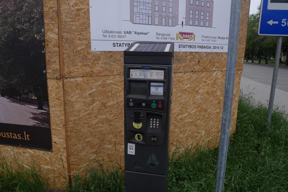 Парковочные автоматы в Клайпеде