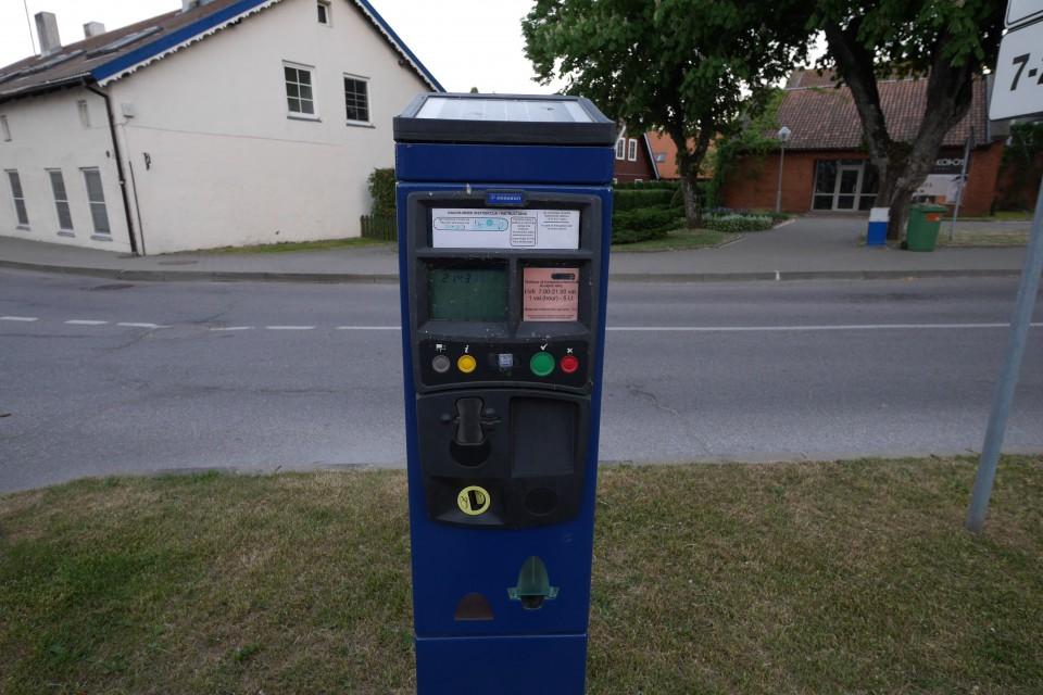 Парковочные автоматы в Ниде