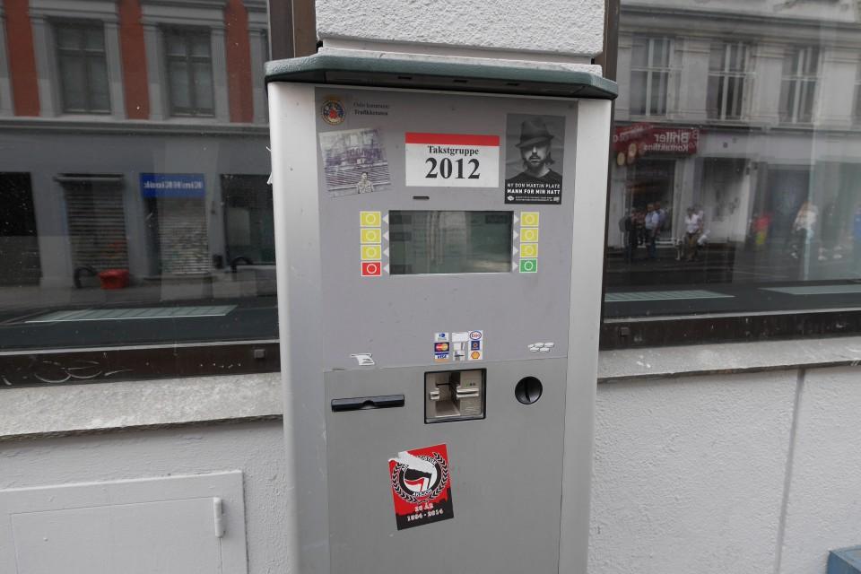 Парковочные автоматы в Осло