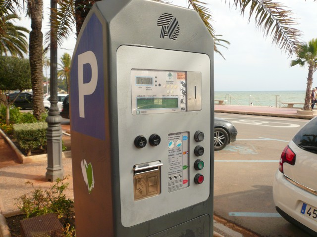 Парковочные автоматы в Испании
