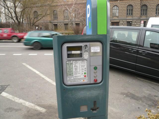 Парковочные автоматы в Праге