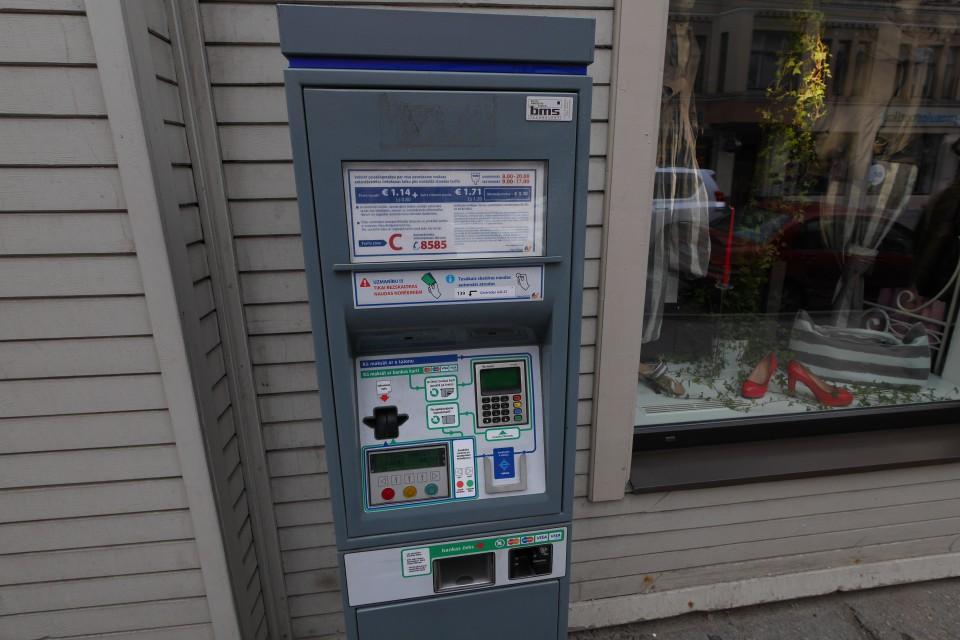 Парковочные автоматы в Риге