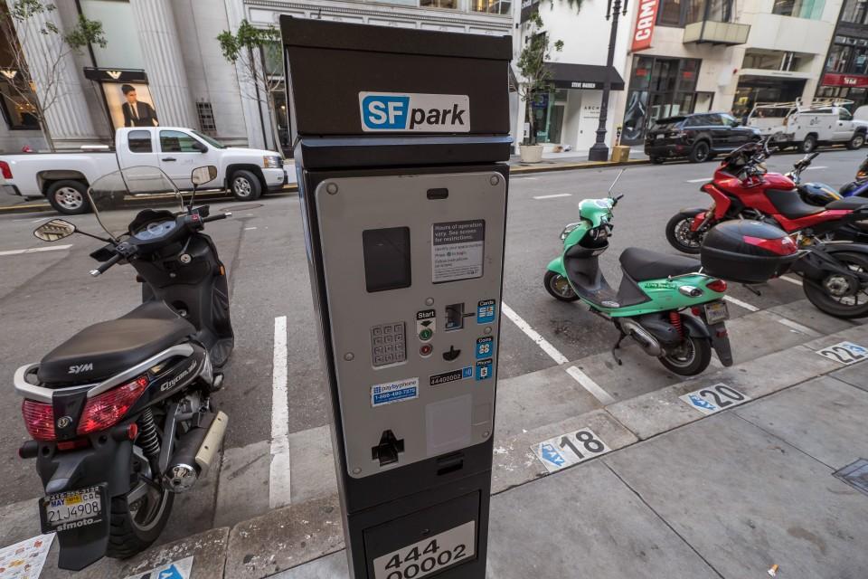 Парковочные автоматы в Сан-Франциско
