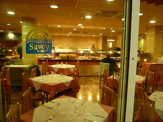 Отель Savoy. Шветский стол