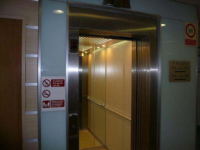 Отель Savoy. Лифт