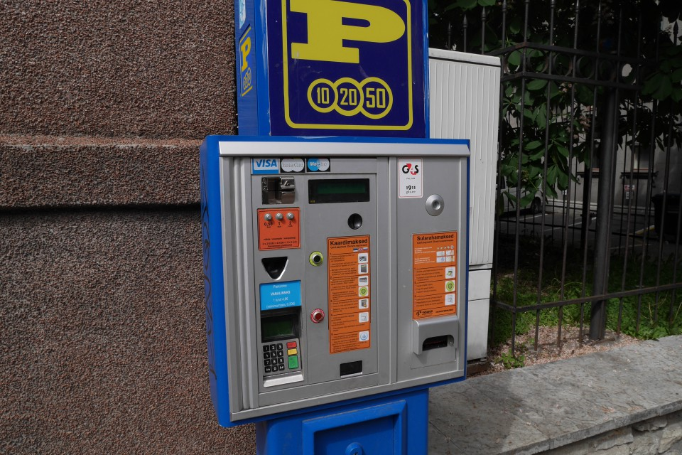 Парковочные автоматы в Таллине