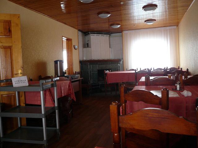 Туристическая база Пронино. Кафешка