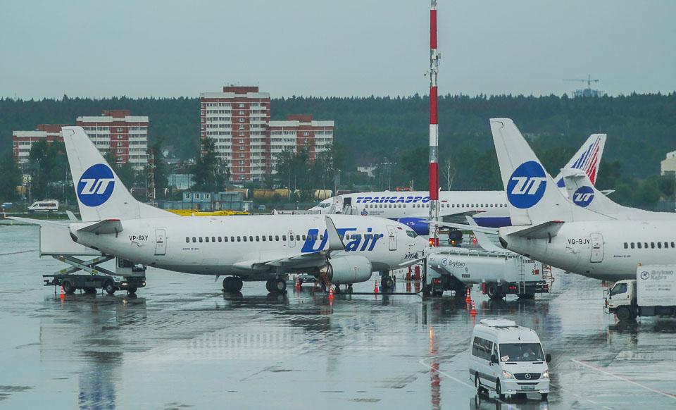 Аэропорт Внуково. Вид из окна