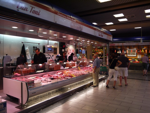 Рыба на рынке в Пальме