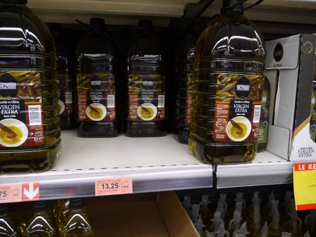 Пять литров Extra virgin Olive Oil за 520 руб