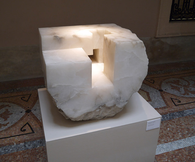 Mendi Huts II, 1990 (Eduardo Chillida)