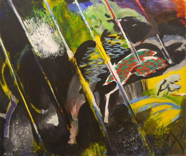 Viento y lluvia II, 1986 (Juan Navarro Baldeweg)