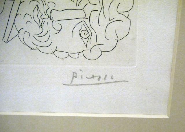 гравюра Пабло Пикассо