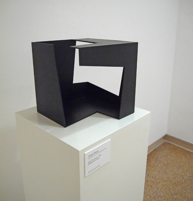 Caja metafísica, 1958 (Jorge Oteiza)