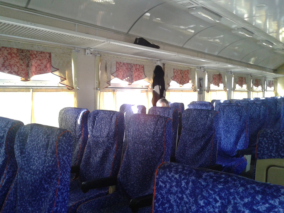 Поезд №832В. Вагон №3