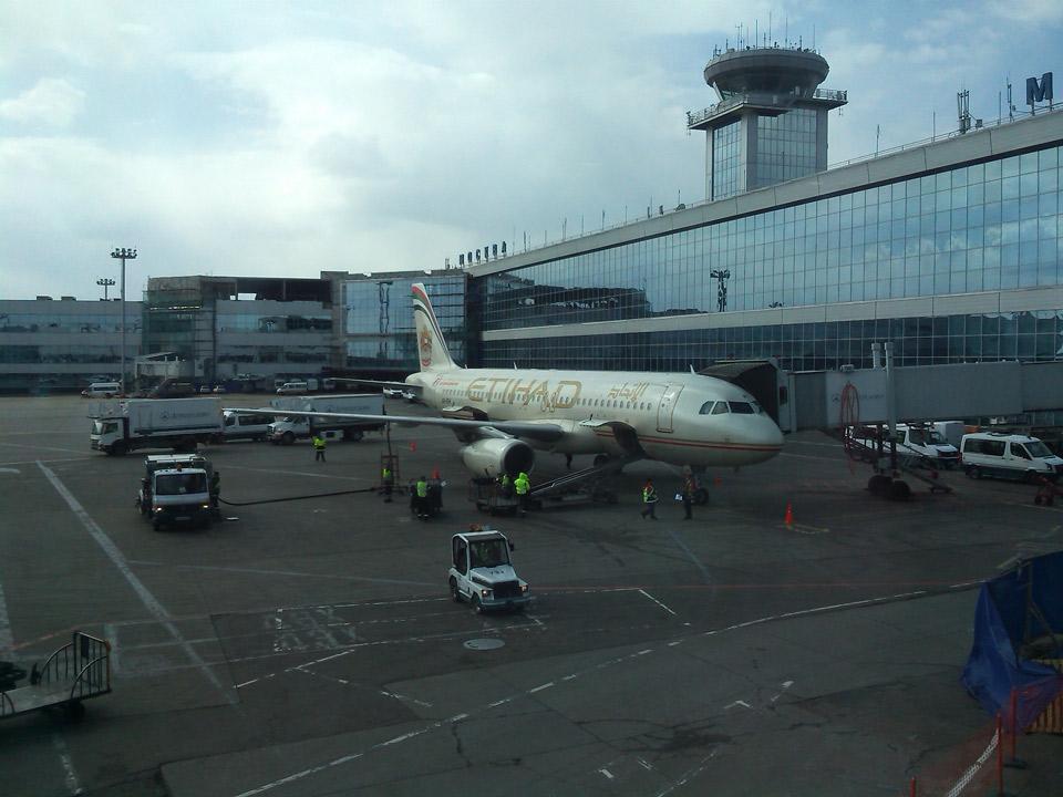 Самолет авиакомпании Этихад