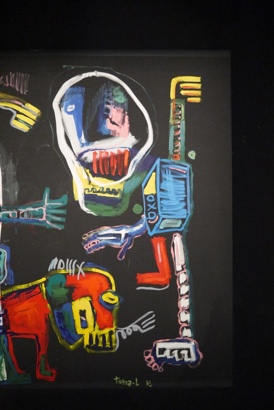 Галерея W в Париже. Выставка современного искусства