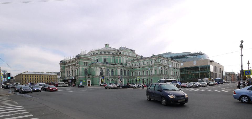 Мариинский-2. Фото нового корпуса.