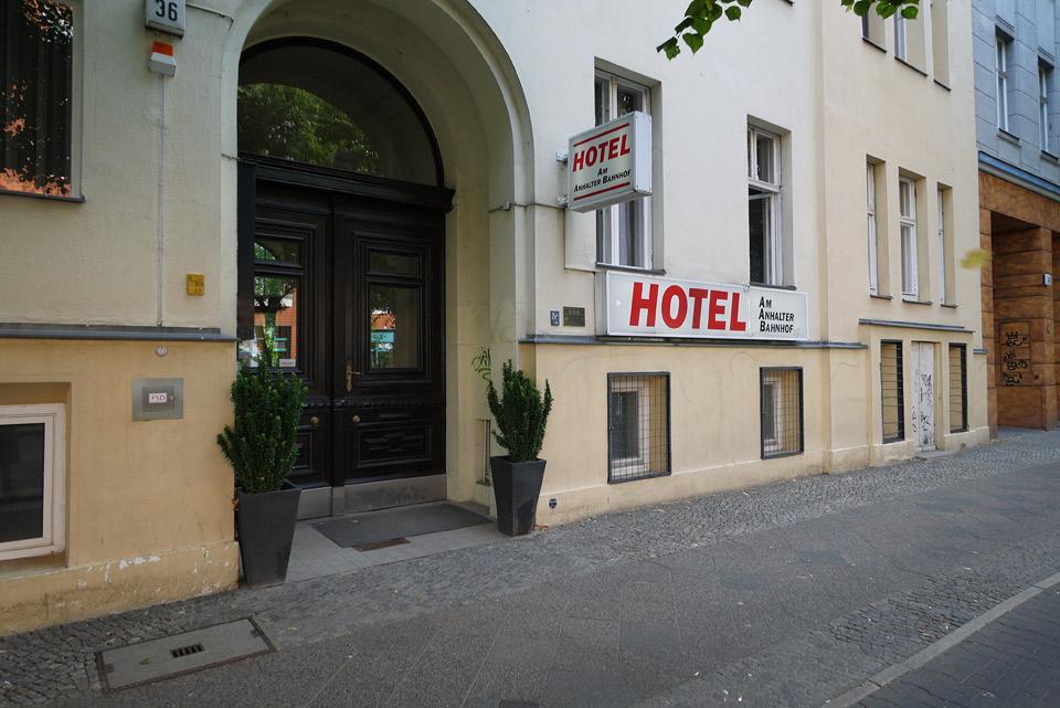 Отель Am Anhalter Bahnhof
