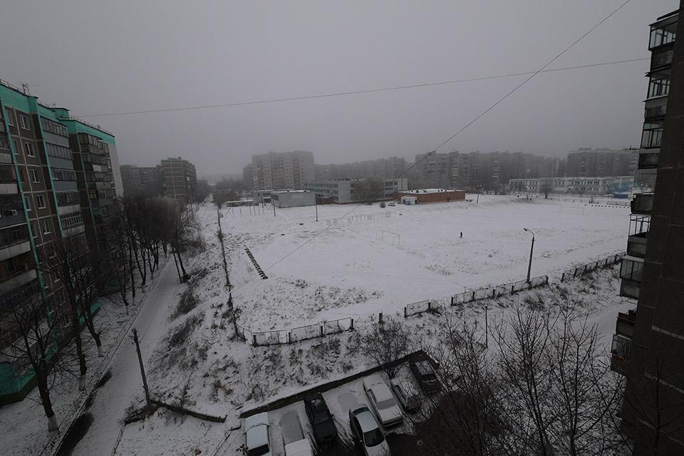Зима в Курске
