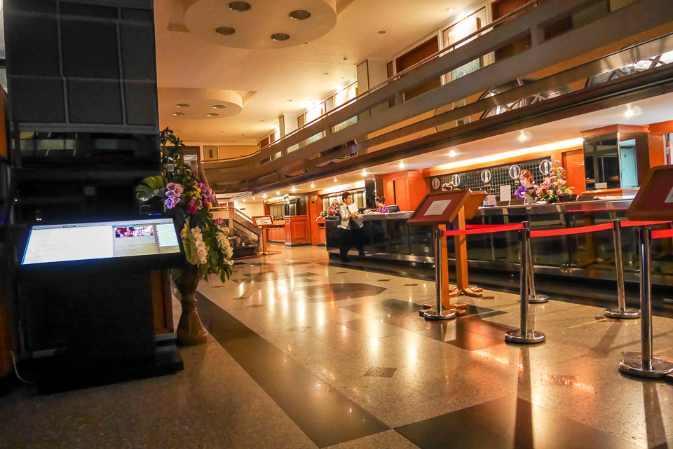Бюджетный отель NASA Vegas в Бангкоке
