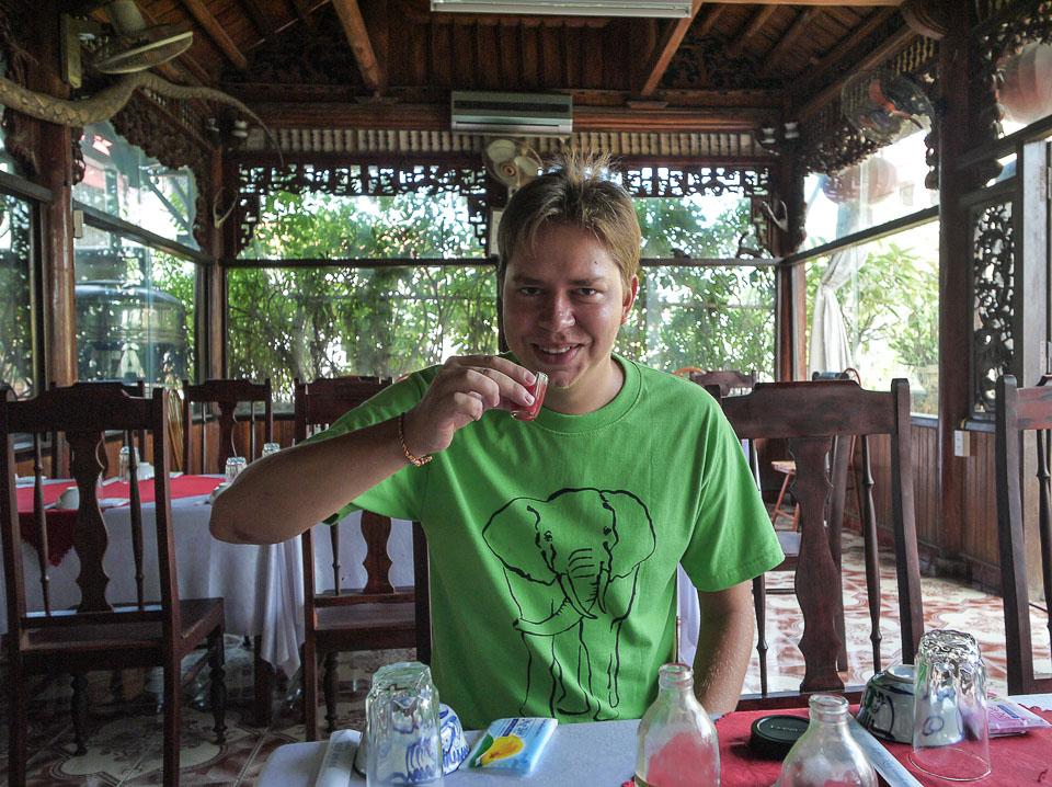 Как я ел кобру