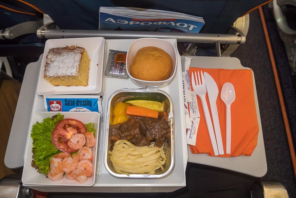 Авиакомпания Аэрофлот. Рейс Москва-Бангкок
