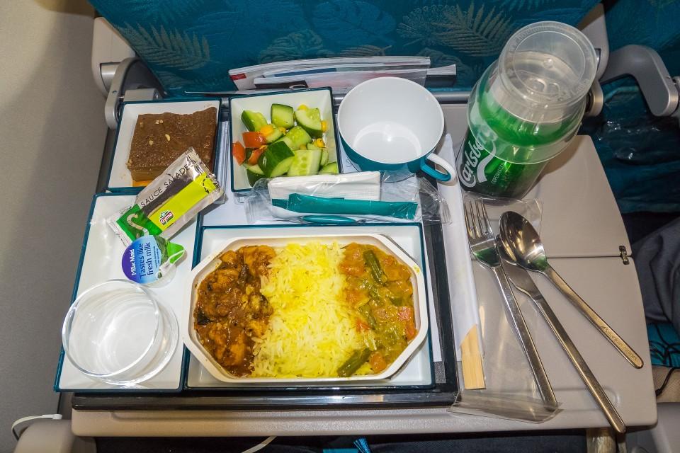 Гонгконг - Бангкок авиакомпания SriLankan Airlines