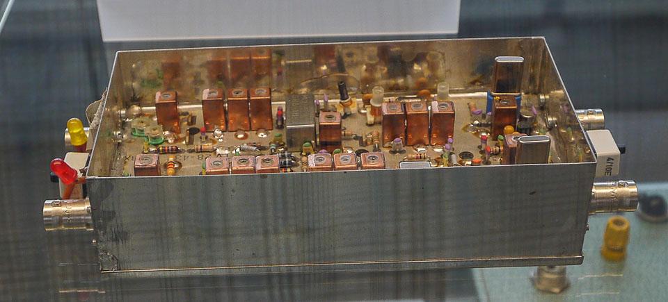 Немецкий музей. Радиолюбительская секция