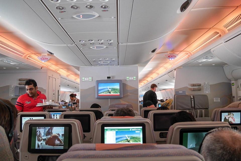 Авиакомпания Эмирэйтс и аэропорт Дубаи