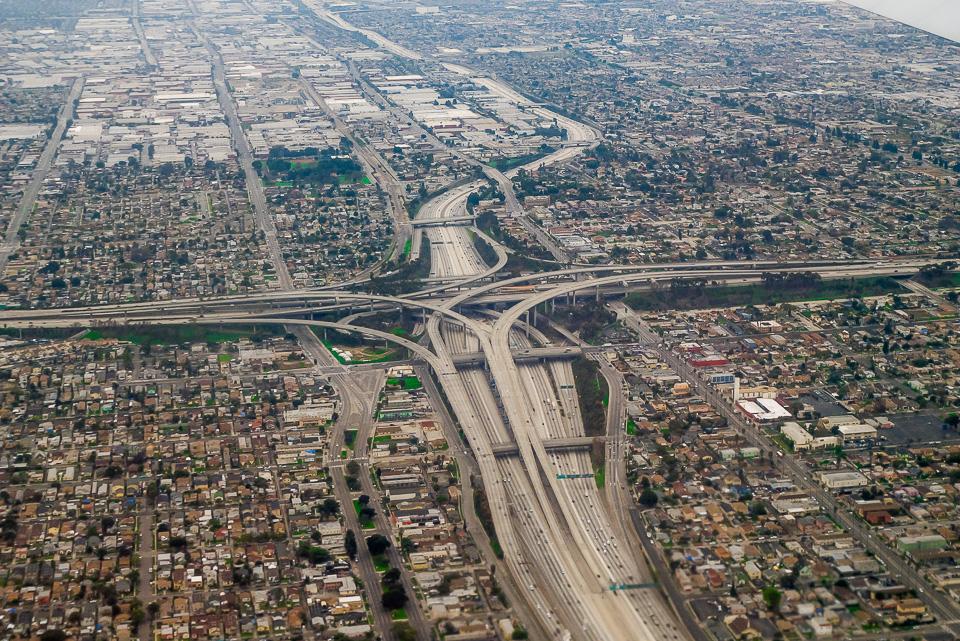 Транспортные развязки Лос-Анжелеса